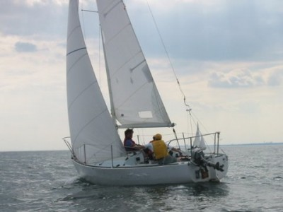 sailing boats Family fun keelboat sailing Mylor Sailing School Falmouth Cornwall
