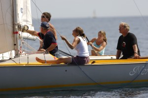 own boat tuition at Mylor Sailing School Falmouth Cornwall