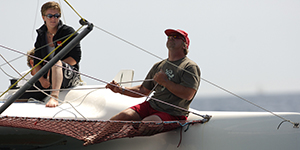 Own boat tuition tailormade tips at Mylor Sailing School Falmouth Cornwall