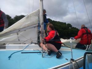 Mylor Sailability Falmouth Cornwall