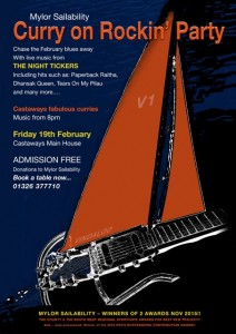 Mylor Sailability Charity party Steve Hutt Feb