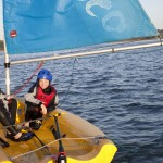 Children-sailing-Mylor Sailing School Falmouth Cornwall