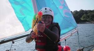 Fun sailing at Mylor