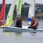 Kids sailing Stage 4 Mylor Sailing School Falmouth Cornwall