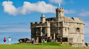 Pendennis castle Falmouth Cornwall