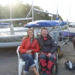 John Robertson at Mylor Sailing School