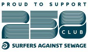Surfers Against Sewage 250 club Mylor Sailing School