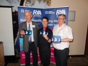 RYA award winners Mylor Sailability Falmouth Cornwall