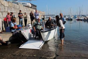 Donate Wheelyboat Mylor Sailability