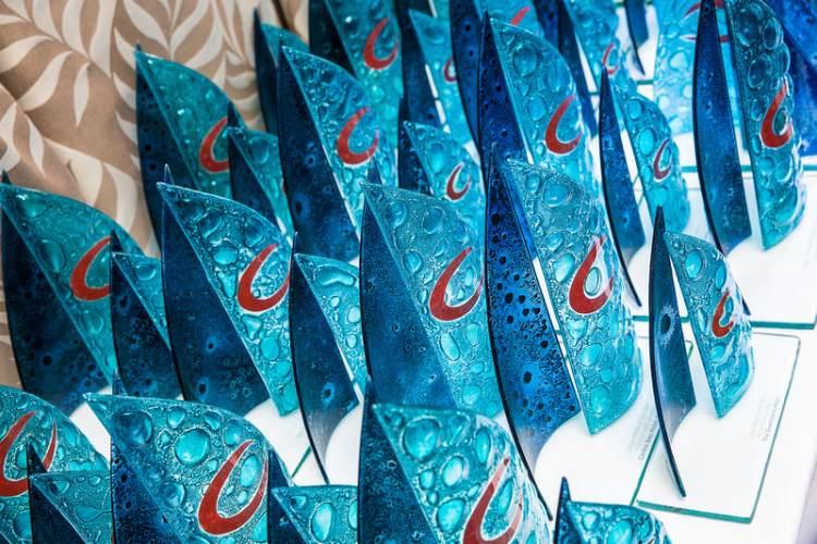 Awards mylor sailing school Falmouth Cornwall