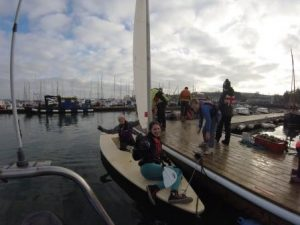 quadrathlon success mylor falmouth sailing