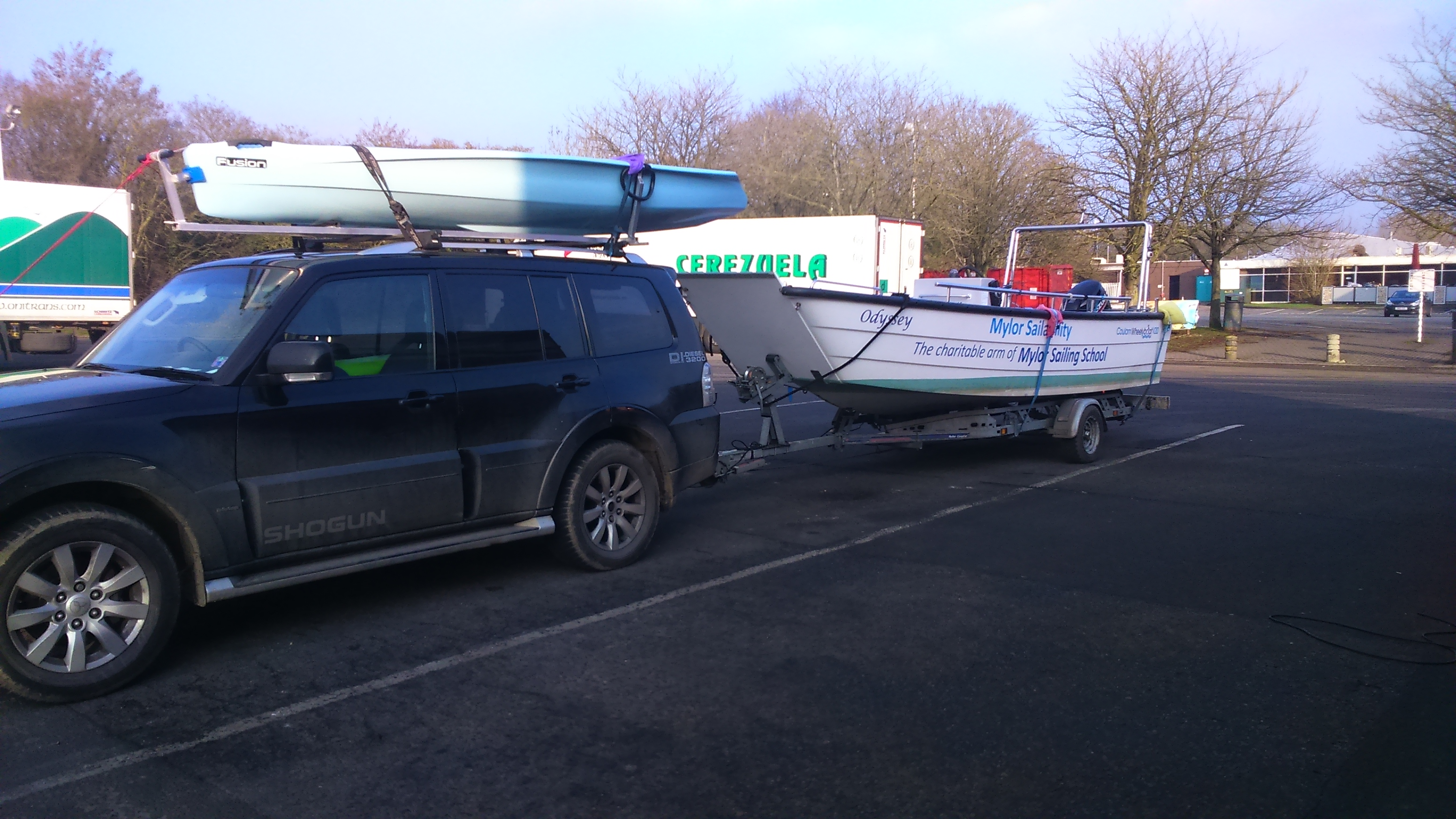 Wheelyboat Mylor Sailability engine upgrade