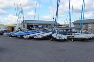 Mylor Sailing School view from outside