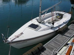 Mylor accessible sailing boat Hawk 20