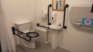 Mylor Accessible toilet