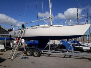 Accessible sailing boat Falmouth Mylor