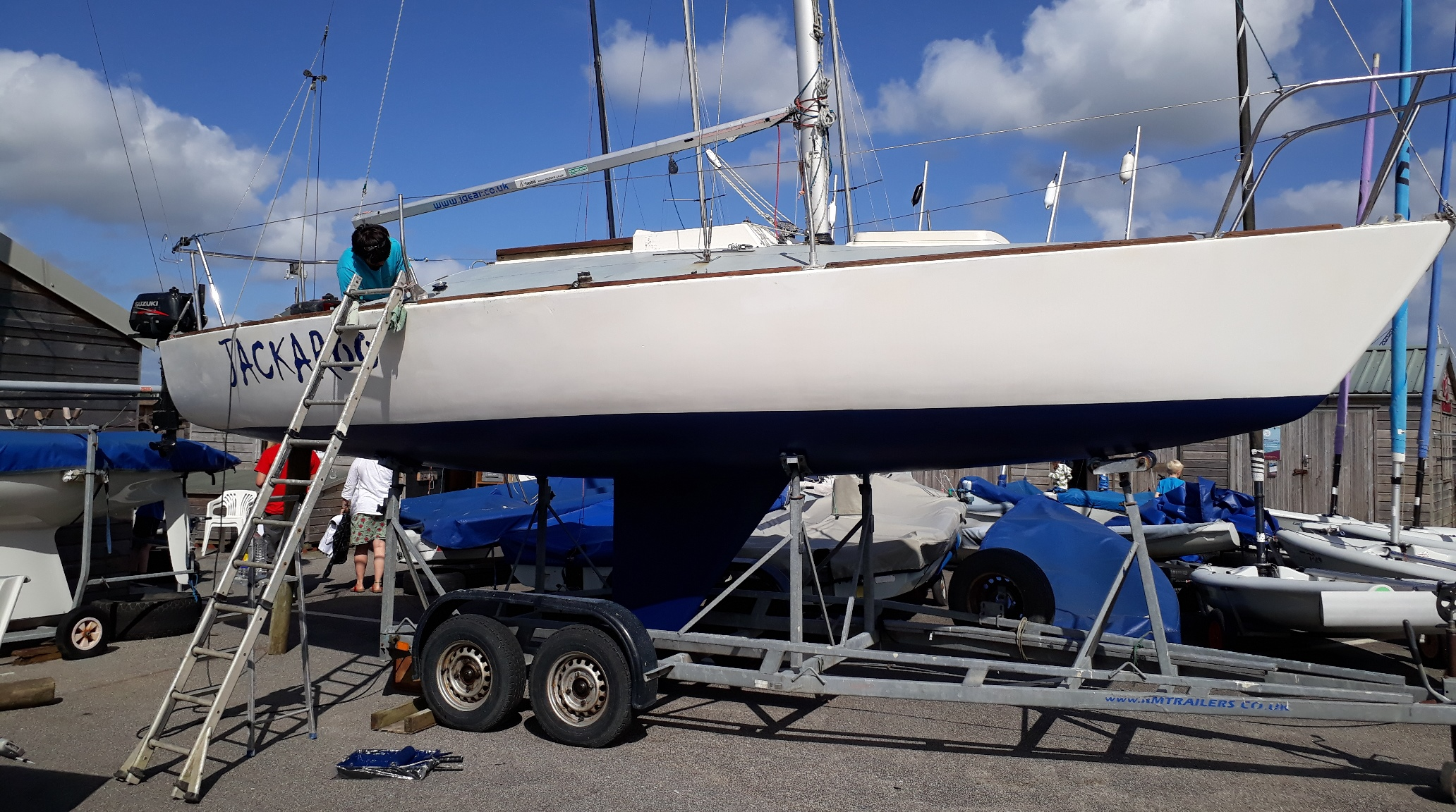 Accessible sailing boat Jackaroo Mylor Falmouth