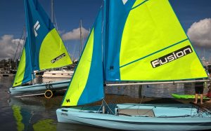 fusion sailing at Mylor