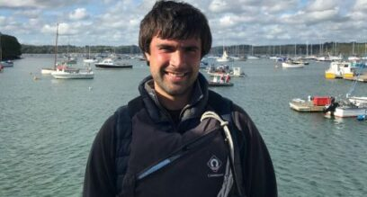 Matt team photo mylor sailing school falmouth