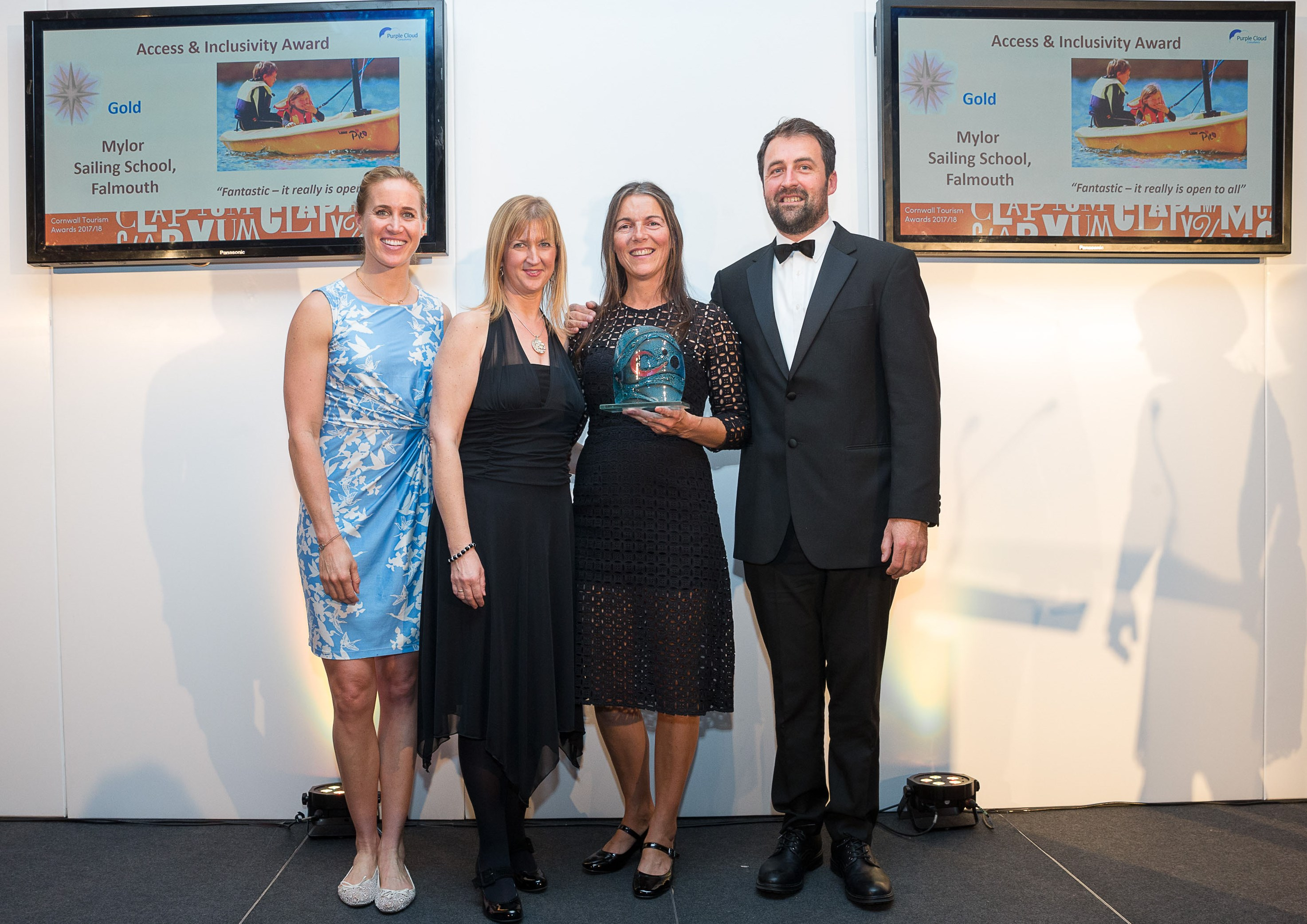 cornwall tourism awards mylor sailing school