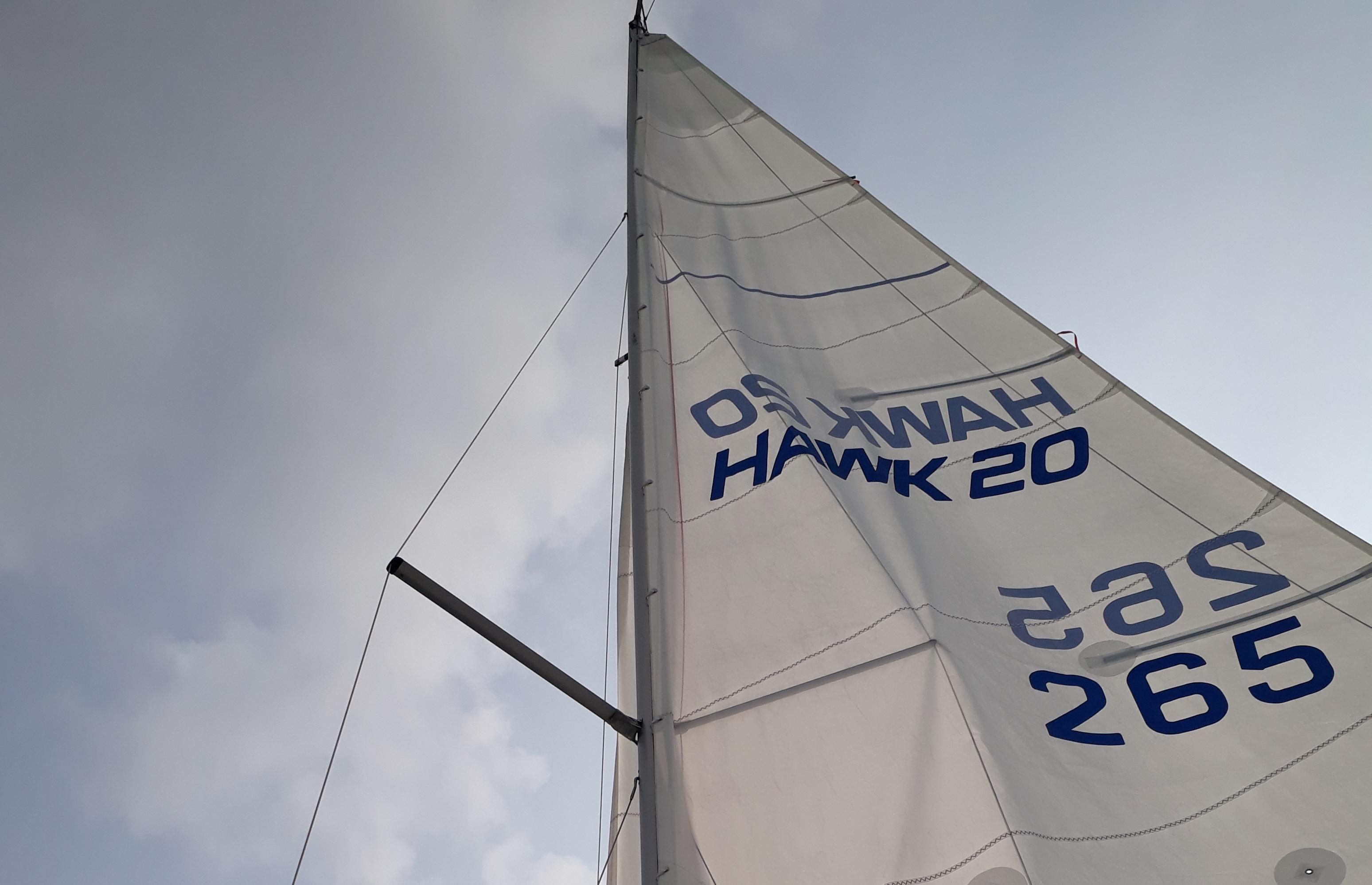 hawk 20 Mylor sailability