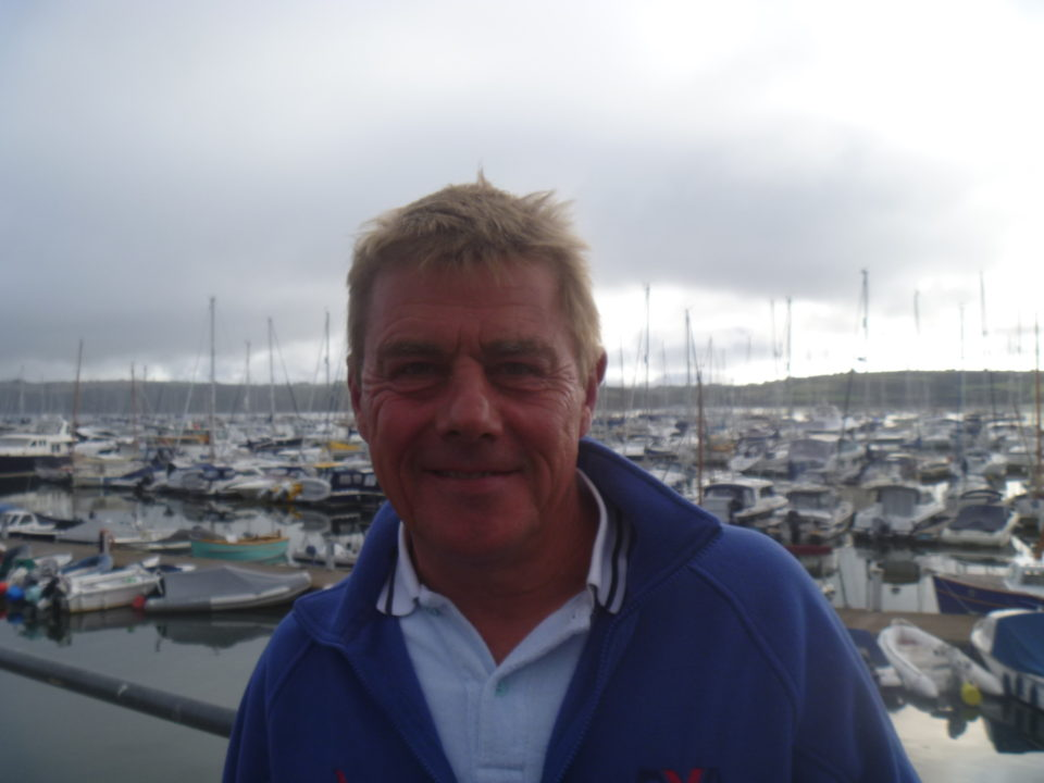 portrait of David Scott instructor at Mylor Sailing School
